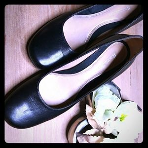 Naturalizer Black Ballet Shoes Excelling Condition